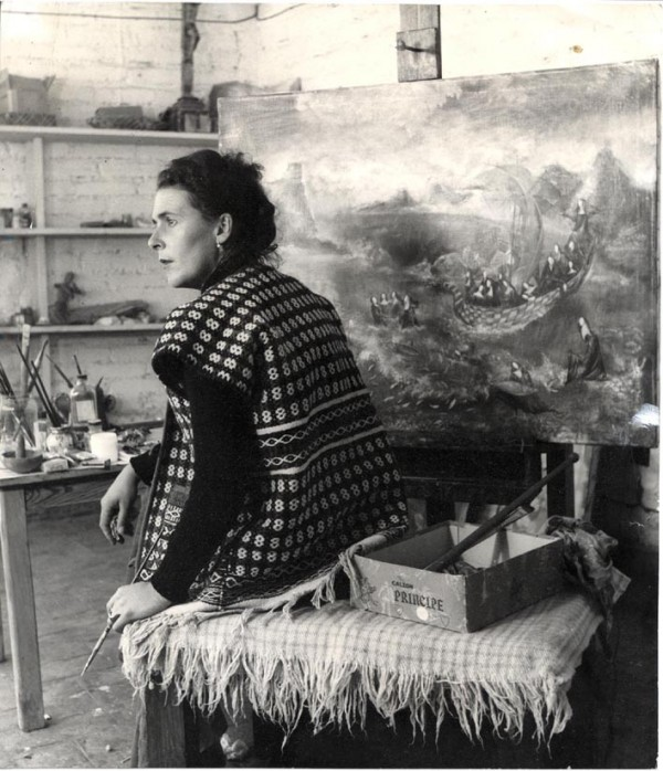 Leonora Carrington's studio: